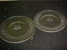 Stuart Crystal CLARIDGE Salad Plates (2)