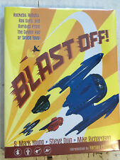 Blast Off! THE book on Space Toys Robots Television Toys signed by Jan Merlin