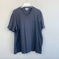 Lacoste V-Neck Short Sleeve Tee T-shirt Mens size XXL