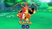 Pokemon Go 10x Charmander Catches High CP Included Shiny Chance