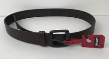 Levis Leather Belt Roller Buckle Brown Large 38-40 NEW