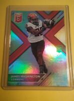 ROOKIE 2018 ELITE James Washington Oklahoma State University Card #108 AMAZING
