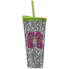 acrylic tumblers glassware with glitter