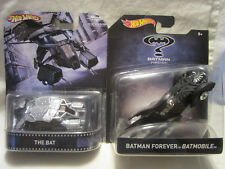 Hot Wheels Custom THE BAT Vehicle & Batman Forever BATMOBILE!