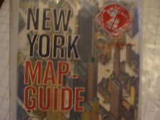 vintage  UNUSED sealed NEW YORK MAP-GUIDE 1963 BOLLMANN ------SEALED---