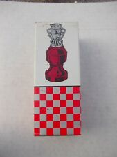 1) Vintage Avon Chess Piece The queen Wild Country AfterSh Bottle + Original Box