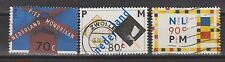 NVPH Nederland Netherlands 1595 - 1597 used 1994 PIET MONDRIAAN