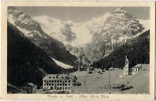 1933 Trafoi - m. 1541 Hotel Bella Vista, panorama montagne - FP B/N VG