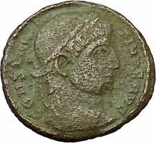 Constantine I The Great 320AD Ancient Roman Coin Wreath of sussess i35104
