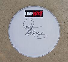 Limp Bizkit FRED DURST Signed Autographed Drum Head COA! PROOF! DRAWING SKETCH