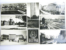 Beograd Vintage 1963 YUGOSLAVIA Postcard Rare STAMP