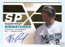 HANLEY RAMIREZ 2008 SPX AUTO CARD MINT