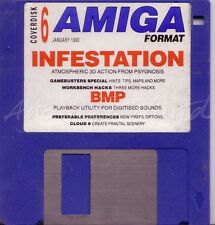Amiga Format - Magazine Coverdisk 06 - Infestation (Playable Demo)