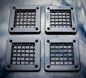 Land Rover Defender Stainless Steel Horn Vents - Uproar 4x4