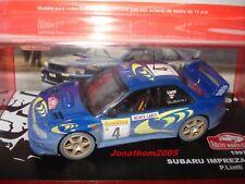 SUBARU IMPREZA WRC N° 4 RALLYE MONTE CARLO 1997 - P. LIATTI - F. PONS au 1/43°