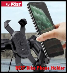 360° Rotation Mobile Phone Holder Handlebar Mount For Motorcycle Bicycle Bike