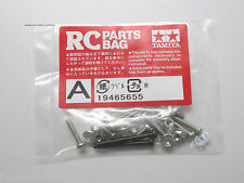 New Tamiya RC Screw Bag A - 19465655 - Hardware From the Kit 58347 Lunch Box
