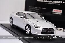 AutoArt 1:18 nissan GT-R R35 Silver
