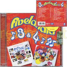 "CRISTINA D'AVENA ""FIVELANDIA 3 & 4"" RARO DOPPIO CD 2006 - SIGILLATO"
