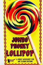 Multi Coloured Fake Jumbo Lollipop Lolly School Girl St Trinians Fancy Dress