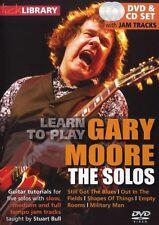 Lick Library: aprende a tocar Gary Moore-los solos de guitarra eléctrica DVD (región 0