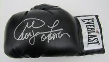 George Foreman Signed/Autographed Everlast Black Boxing Glove JSA 140185