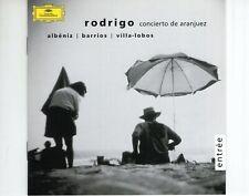 CDALBENIZ / BARRIOS / VILLA-LOBOSRodrigo - concierto de aranjuezEX+  (B4062)