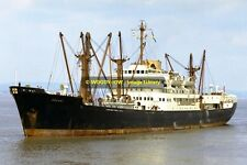 mc0034 - Elder Dempster Cargo Ship - Obuasi , built 1952 - photo 6x4