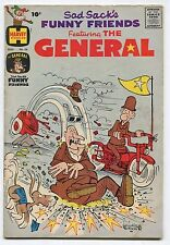 SAD SACK'S FUNNY FRIENDS FEATURING THE GENERAL #36 (4.0) 1961