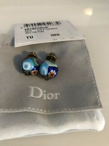 Christian Dior Limited Edition Murano Glass Earrings