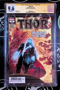THOR #6 (2020) CGC 9.6 Signed By Donny Cates Avengers Marvel Comics