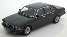 Bmw 733i E23 1977 Dark Green Metallic 1:18 Model KK SCALE