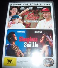 A League Of Their Own (Madonna) / Sleepless In Seattle (Aust Reg 4) DVD – New