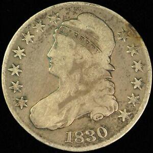 1830 Bust Half Dollar.  #BHD30