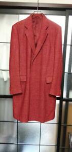 Helmut Lang Authentic First Line Cupra Coat Bordeaux Size 46 Used from Japan