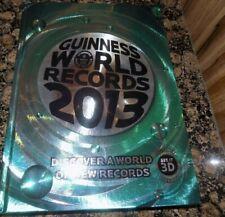 GUINNESS  world records  2013 HARDBACK