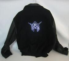 Master Replicas PROTOTYPE Gundam Fiber Optic Light up Leather & Cloth Jacket