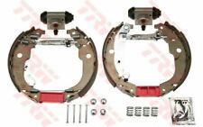 TRW Bremsbackensatz komplett Bosch / Bendix für CITROEN C3 PEUGEOT 207 GSK1264