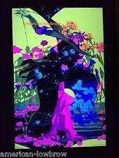 Psychedelic Art Blacklight Poster Zephyr Woodstock Weed Marijuana Pot LSD