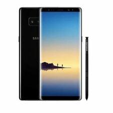 Samsung Galaxy Note 8 SM-N950F 64GB Mobile Midnight Black Unlocked GOOD