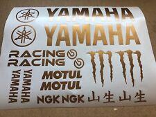 Yamaha 16 st. Set Sticker Aufkleber Motorrad Tuning R1 R6 TZR XT