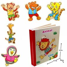 Book Puzzle Toy for Toddler Baby Kids Children . Animal book