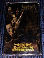 Emperor – IX Equilibrium. Rare Black Metal Cassette Tape Official Mystic