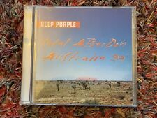 Deep Purple Total Abandon Australia 1999 Live CD Album