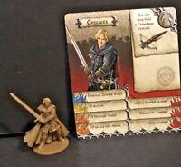 Zombicide Black Plague: Kickstarter Exclusive: Gregoire w/ card CMoN