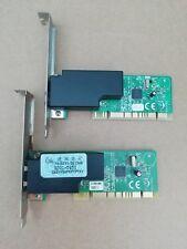 Kit 2 pezzi Modem Fax interno su scheda PCI Conexant RD01-D850 56K