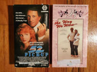 (Lot2) 52 Pick-Up 86 The Way We Were 73 VHS HTF OOP Original Thriller Romance