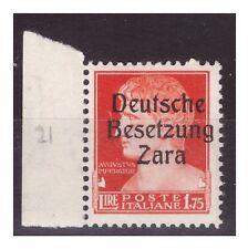 ZARA  1943  -  LIRE 1 ,75  -  PRIMO TIPO   NUOVO **