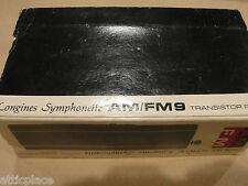 LONGINES SYMPHONETTE AM/FM RADIO