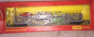 TRIANG HORNBY R342  CAR TRANSPORTER with Minix Cars Boxed